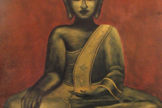 Boudha Indien # 80   24 x 30