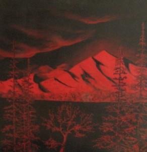Rouge Nordique   24 x 24